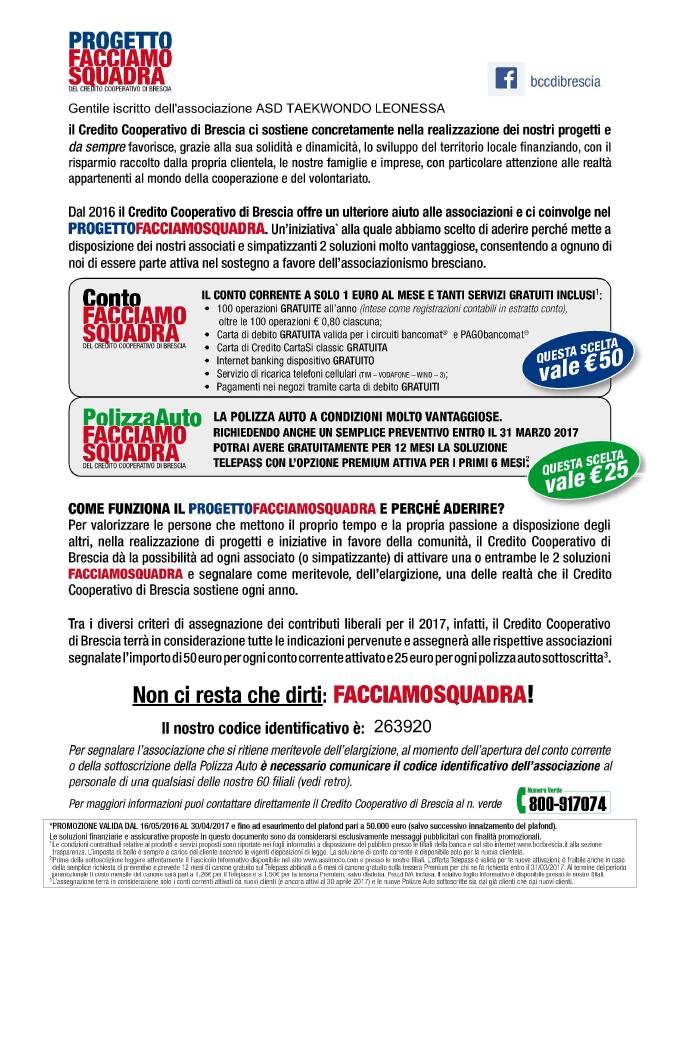 Convenzioni – Taekwondo Leonessa Brescia f83ba8fb9e3
