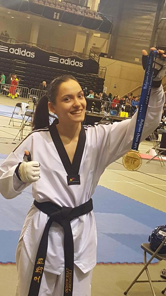 Image result for ana ciuchitu taekwondo
